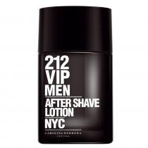 212 Vip Men After Shave Lotion Carolina Herrera - 100ml - Loção PósBarba