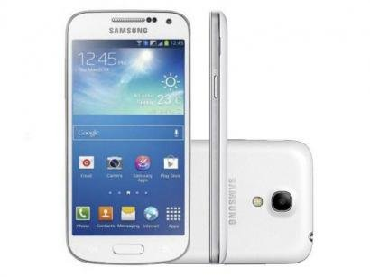 "Smartphone Samsung Galaxy S4 Mini Duos DualChip 3G - Android 4.2 Câm. 8MP Tela 4.3"" Super Amoled Wi-Fi"