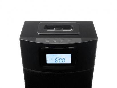 Docking Station 48 Watts RMS iPhone e iPod - Cygnett Unison Black Tower
