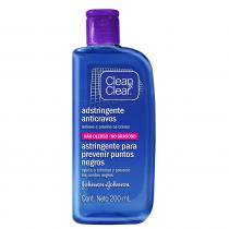 Adstringente Anticravos Clean  Clear - Tratamento para Rosto Oleoso - Clean  Clear
