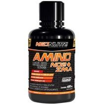 Amino Liquid 36000 NO2 + ZMA 480 ml Sabor Morango