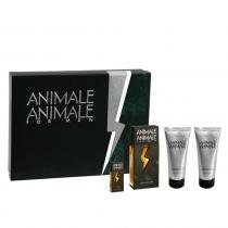 Animale Animale For Men Animale - Kit - Kit dePerfume Masculino + Pós Barba + Gel de Banho + Miniatura