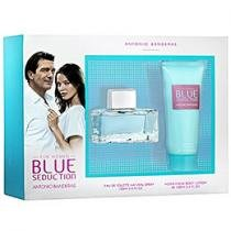 Antonio Banderas Blue Seduction for Women Coffret - Perfume Feminino Edt 100ml + Loção Corporal
