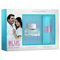 Antonio Banderas Blue Seduction for Women Coffret - Perfume Feminino Edt 50ml + Desodorante
