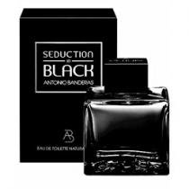 Antonio Banderas Seduction in Black - Perfume Masculino Eau de Toilette 100 ml