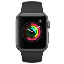 Apple Watch Series 1 38mm Alumínio 8GB Esportiva - Bluetooth WiFi Resistente à respingos de águ
