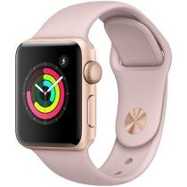 Apple Watch Series 3 38mm Alumínio 8GB Esportiva - Dourado GPS Integrado Bluetooth Resistente a Água