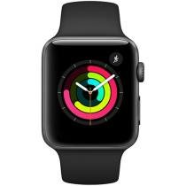Apple Watch Series 3 42mm Alumínio 8GB Esportiva - Cinza GPS Integrado Bluetooth Resistente a Água