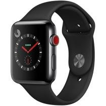 Apple Watch Series 3 GPS + Cellular 42mm Wi-Fi - Bluetooth Pulseira Esportiva 16GB Caixa Aço