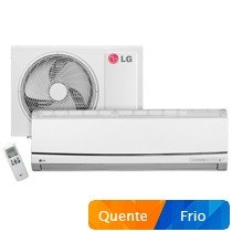 Ar Condicionado Split LG Quente/Frio 12.000 BTUs