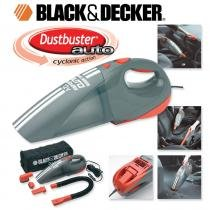 Aspirador para Automóveis AV1500LA - Black and Decker - 12v - Black and Decker