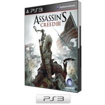 Assassins Creed III p/ PS3 - Ubisoft