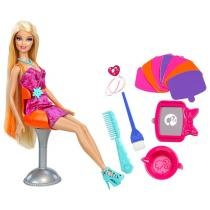 Barbie Fab Mechas Coloridas