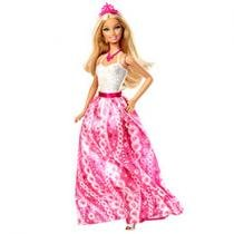Barbie Fairytale Magic Branco e Rosa