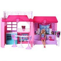 Barbie Reality Casa com Boneca 2013 - Mattel