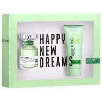 Benetton Kit United Dreams Live Free - Perfume Feminino Eau de Toilette 150 ml