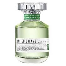 Benetton United Dream Live Free - Perfume Feminino Eau de Toilette 80ml