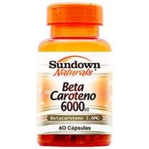Beta Caroteno 6000 UI 60 Cápsulas - Sundown Naturals