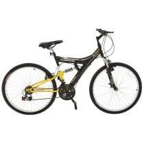 Bicicleta Aro 26 Full Suspension 18 Marchas