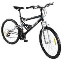 Bicicleta Caloi KS Unissex - Full Suspension Aro 26 21 Marchas