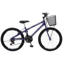 Bicicleta Colli Bike Allegra City Aro 24 - 21 Marchas com Cesta