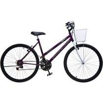 Bicicleta Colli Bike Allegra City Aro 26 - 18 Marchas Freio V-Brake com Cesta
