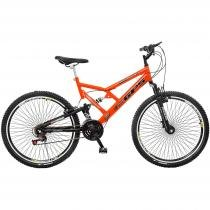 Bicicleta Colli Bike GPS Full Aro 26 21 Marchas - Freio V-Brake