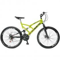 Bicicleta Colli Bike GPS Mountain Bike Aro 26 - 21 Marchas Freio a Disco