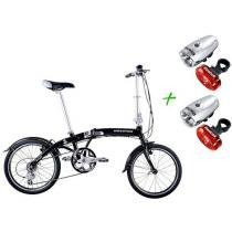 Bicicleta Houston FX2 Aro 20 8 Marchas