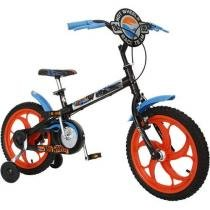 Bicicleta Infantil Hot Wheels Aro 16 Caloi - Colorido