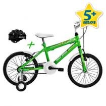 Bicicleta Top Lip com Capacete Aro 16