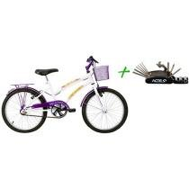 Bicicleta Verden Breeze Aro 20 - Freio V-brake + Kit de Ferramentas Acte Sports
