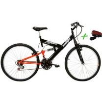 Bicicleta Verden Radikale Aro 26 18 Marchas - Full Suspension + Ciclo Faixa Virtual