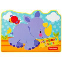 Bloco Animal - Primeiras Cores - Fisher Price - DCL