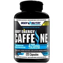 Body Energy Caffeíne 120 Cápsulas - Body Nutry