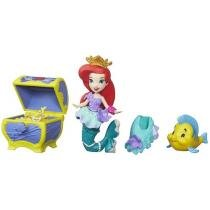 Boneca Disney Princess Little Kingdom - Aries Treasure Chest Hasbro