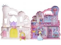 Boneca e Cenário Play?n Carry Castle - Princesas Disney Little Kingdo Hasbro