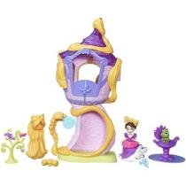 Boneca e Playset Mini Torre Da Rapunzel - Princesas Disney Little Kingdom Hasbro