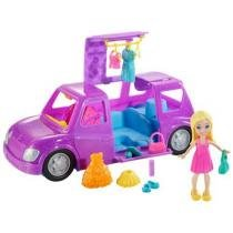 Boneca Polly Pocket Conjunto Polly Super Limosine - Mattel
