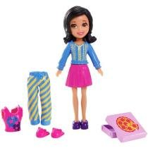 Boneca Polly Pocket Crissy Casa Divertida - Mattel