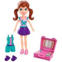 Boneca Polly Pocket Lila Casa Divertida - Mattel