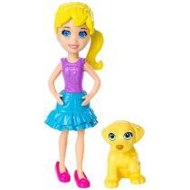 Boneca Polly Pocket Polly com Bichinho - Mattel