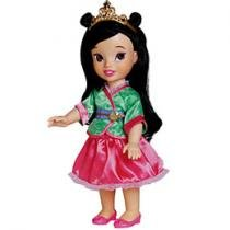 Boneca Princesa Disney Mulan - Long Jump