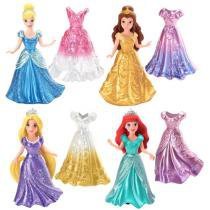 Bonecas Princesas Disney Kit Mini Magiclip