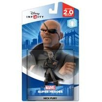 Boneco Disney Infinity - Nick Fury Marvel Super Heroes