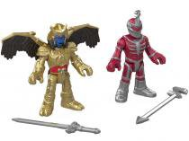 Bonecos Imaginext Mighty Morphin Power Rangers - Lord Zed & Goldar com Acessórios Fisher-Price