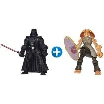 Bonecos Star Wars Hero Mashers - Darth Vader + Jar Jar Binks Hasbro