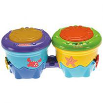 Bongô Amigos do Mar Sons e Luzes - Fisher-Price