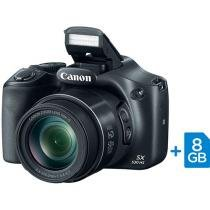 "C��mera Digital Canon PowerShot SX530HS 16MP - LCD 3"" Zoom ��ptico 50x Filma Full HD Cart��o 8GB"