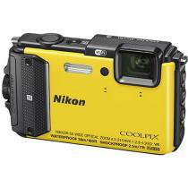 C��mera Digital Nikon Coolpix AW130 16MP LCD 3 - Zoom ��ptico 5x Filma Full HD �� Prova de ��gua